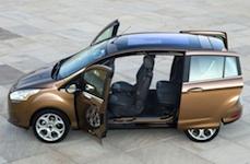 Краш-тест Ford B-MAX