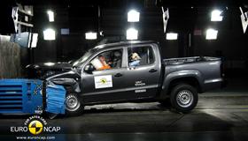 Краш-тест Volkswagen Amarok