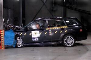 Краш-тест Subaru Legacy