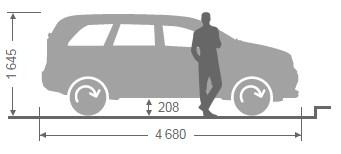 параметры кузова авто Мазда CX-7